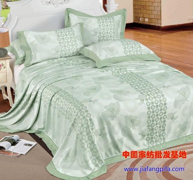 bamboo design bedspread 3