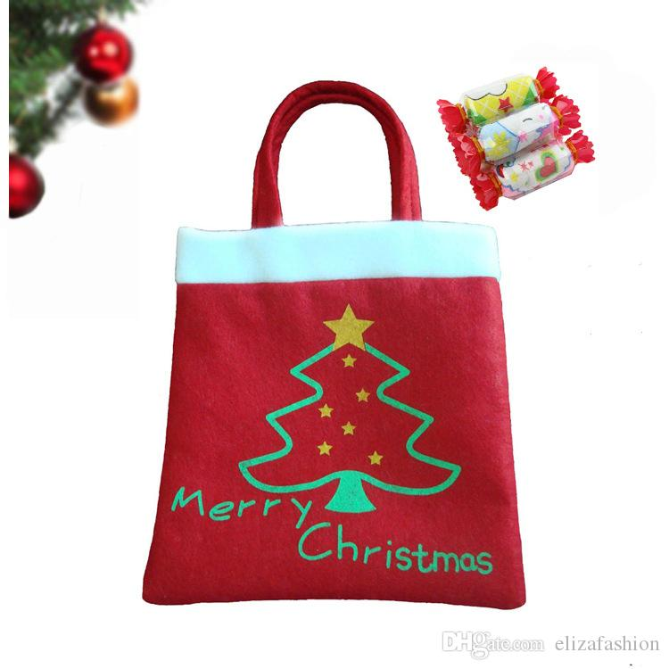 Christmas bag shopping handbag xmas gift card