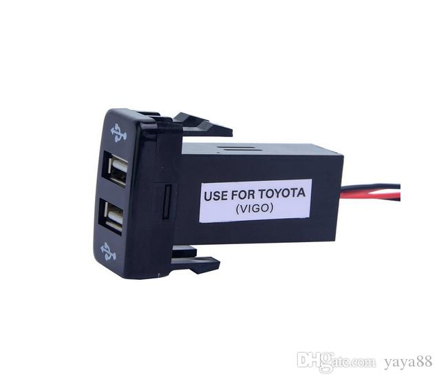 Double chargeur USB pour Toyota OEM Switch Prado 120, FJ Cruiser, Hilux, LC100,