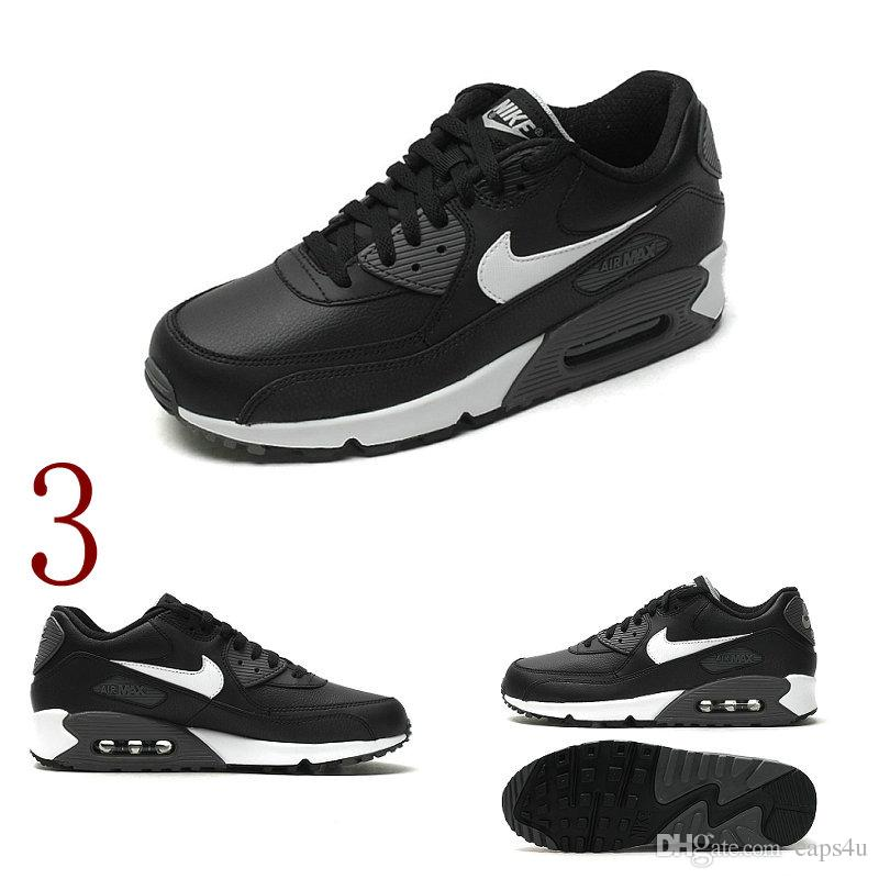 Nike Air Max Black And White Men