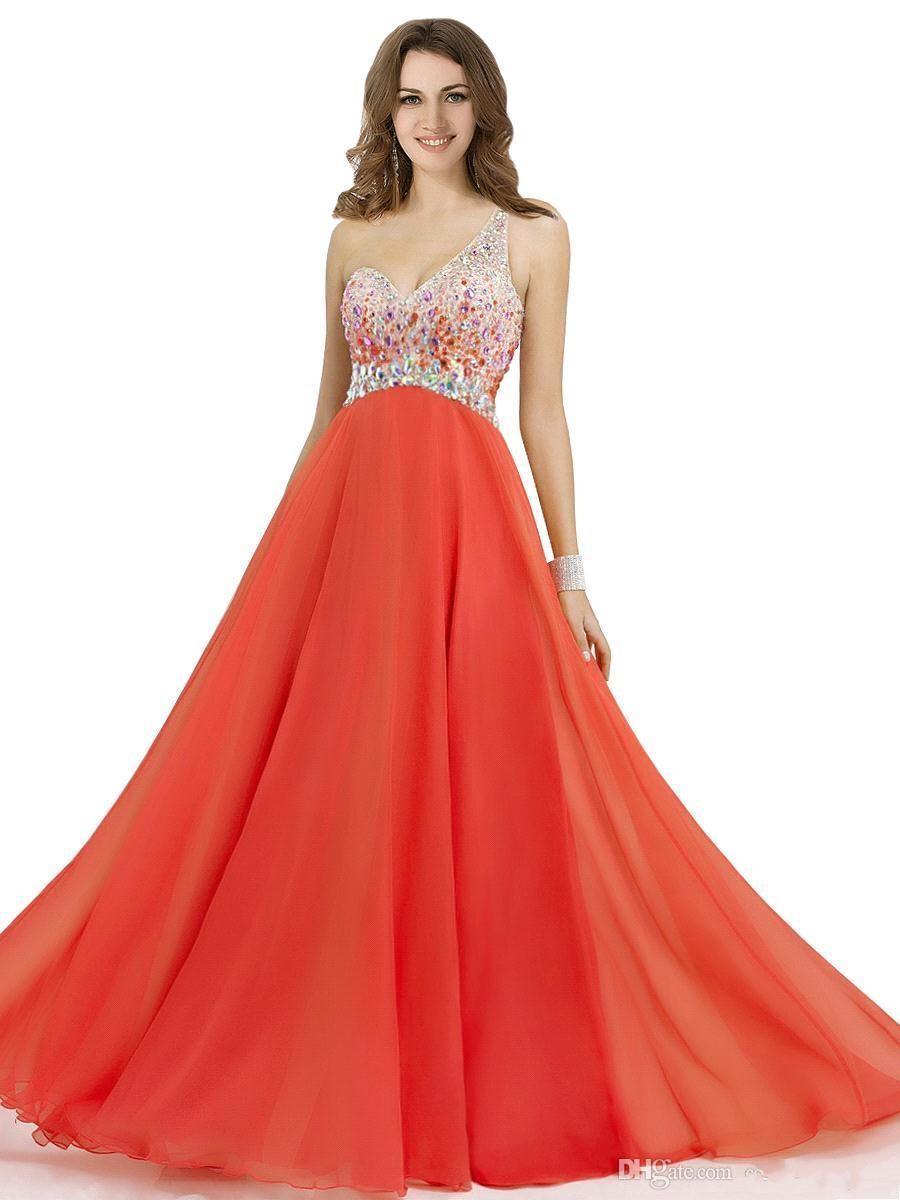 2016 vestidos de baile de la fiesta de primavera y verano de la gasa de un