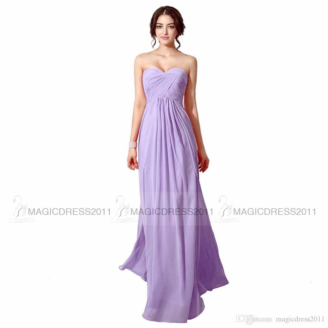 Hermosa Vestido De La Dama De Honor De Color Azul Claro Bosquejo ...