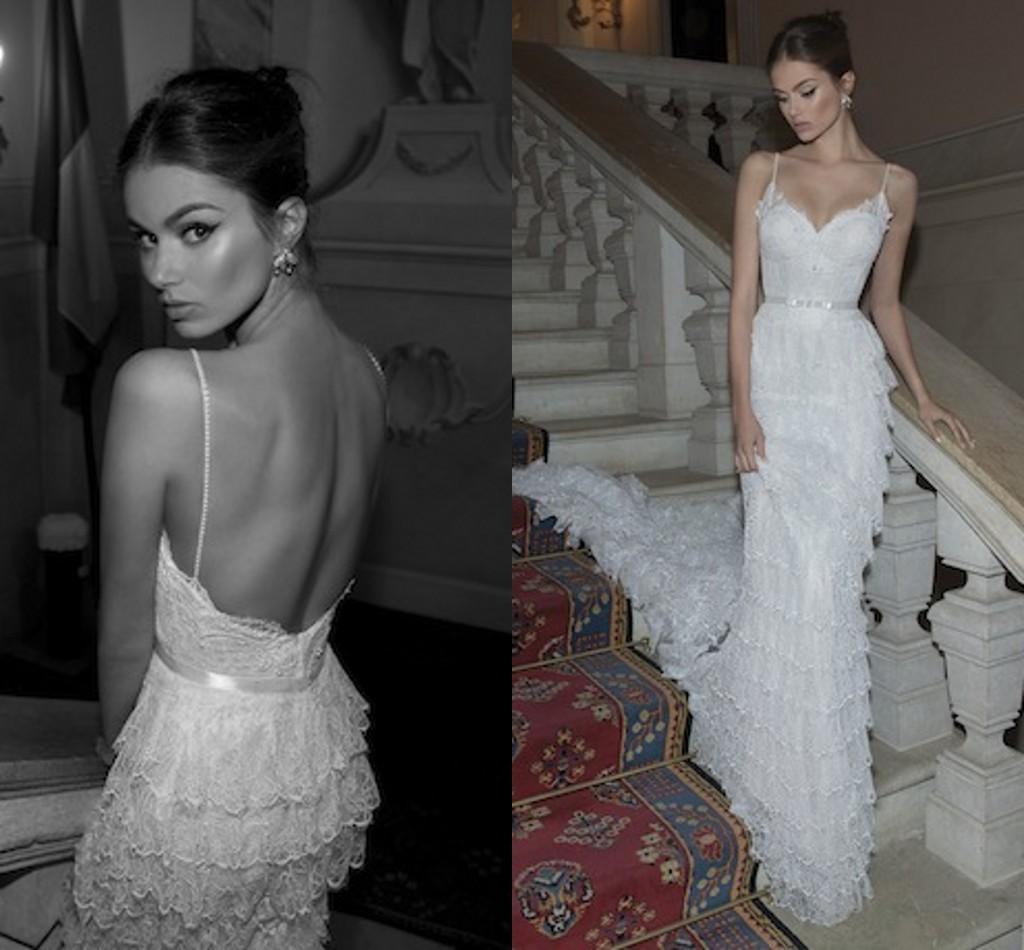 Berta Glamorous Mermaid Wedding Dresses Plus Size 2015