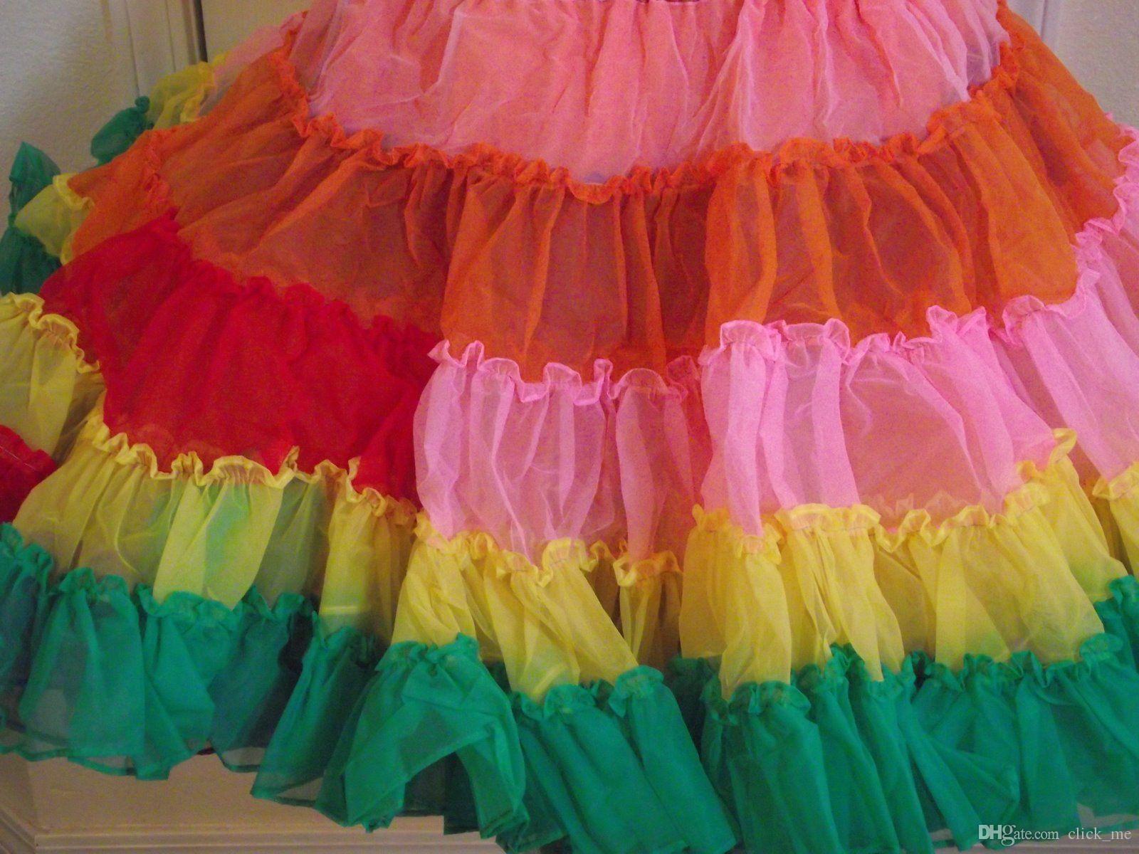 Magnífico Vestidos De Novia De Colores Del Arco Iris Adorno - Ideas ...