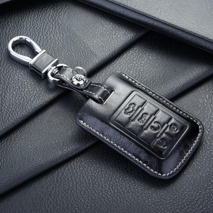 2017 Fob Leather Key Case Cover For Auto Cadillac Key Case Shell