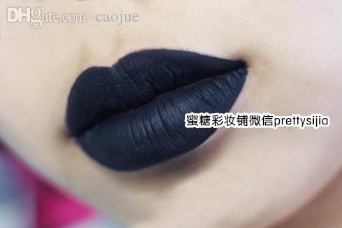 Wholesale Gothic Style Pure Black Lipstick And Black Knight Black ...