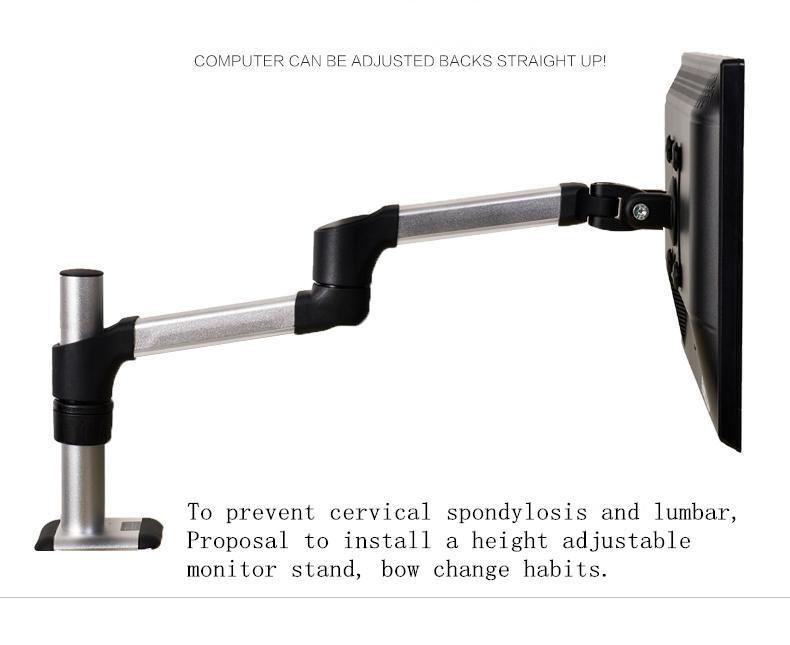 2017 Universal Monitor Stand Adjustable Aluminum Alloy Monitor