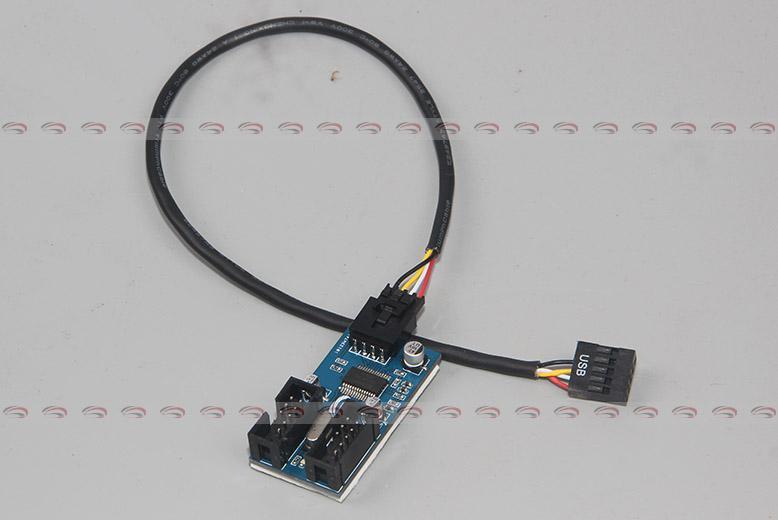 Printer Cable Splitter : Pc case internal pin usb to splitter chipset