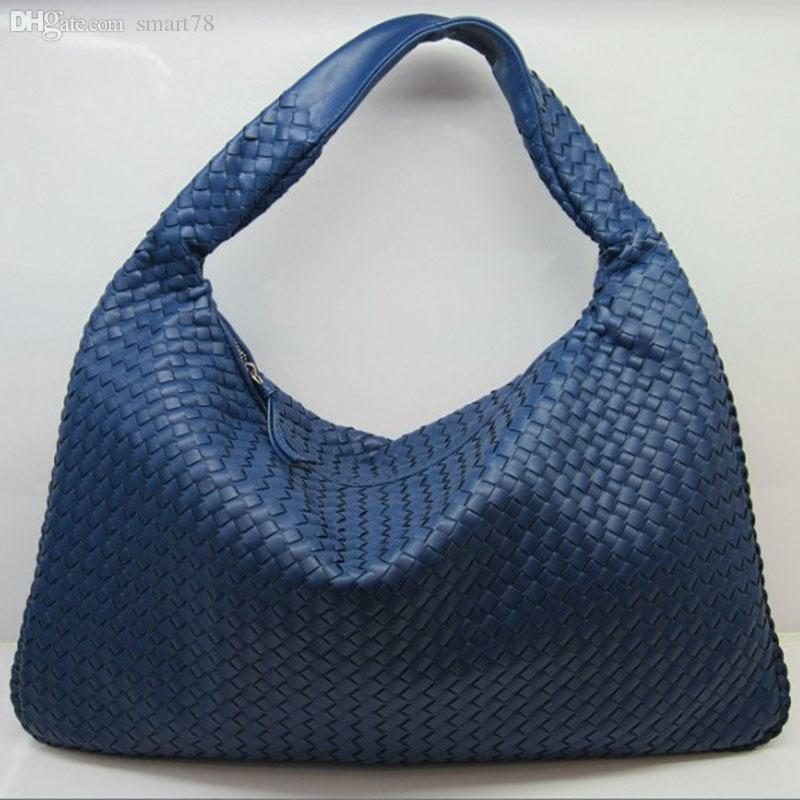 Wholesale Celebrity Brand Vintage Woven Faux Leather Hobo Bags ...