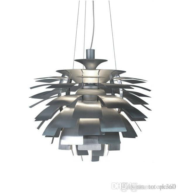 Red Artichoke Chandelier: 40 60 72cm Led Pendant Lamp Poul Henningsen Ph Artichoke