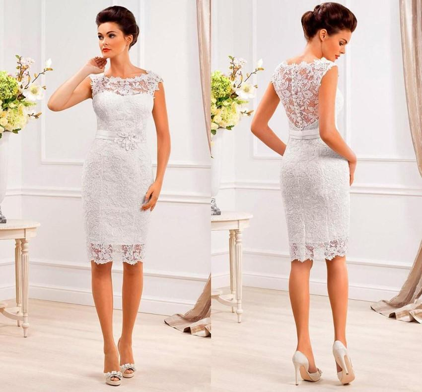 Short Tight Wedding Dresses - Locallygrownweddings.com