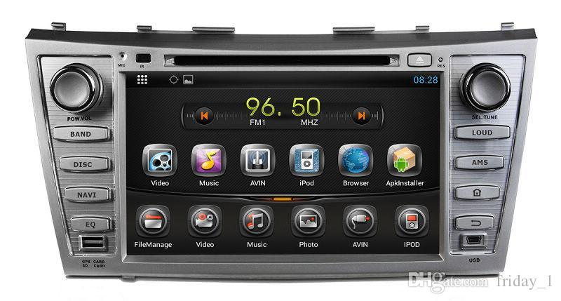 android 4 2 car dvd player for toyota camry 2007 2008 2009 2010 2011 with gps. Black Bedroom Furniture Sets. Home Design Ideas