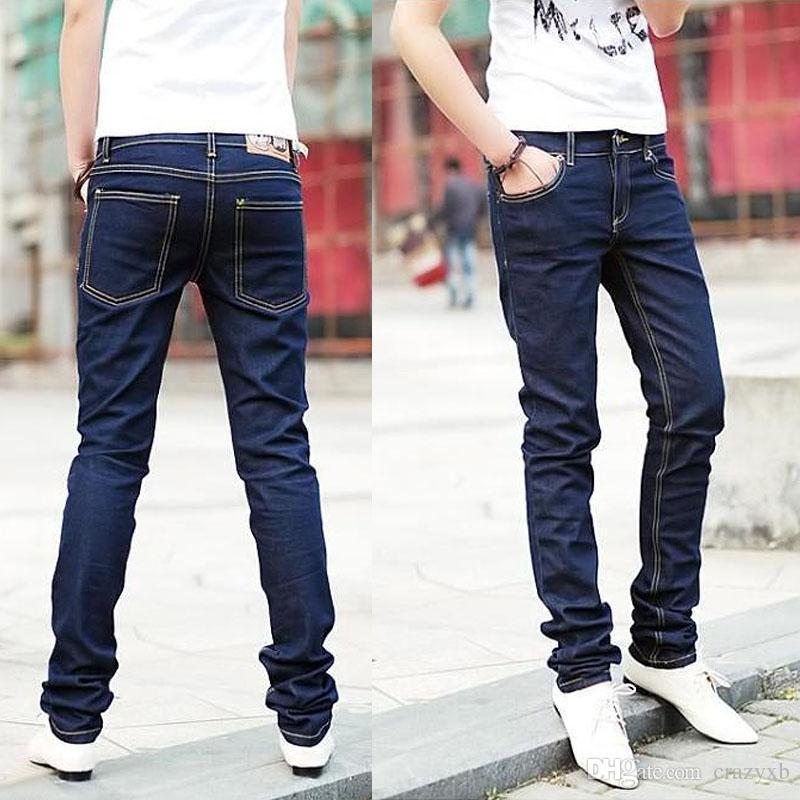 Wholesale 2016 New Fashion Male Trousers Slim Pencil Pants Boys ...