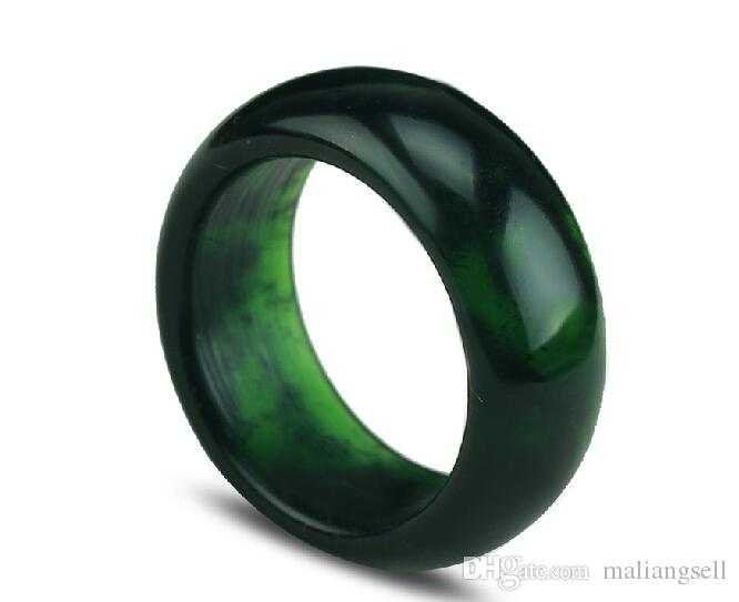 Red Jade Wedding Ring