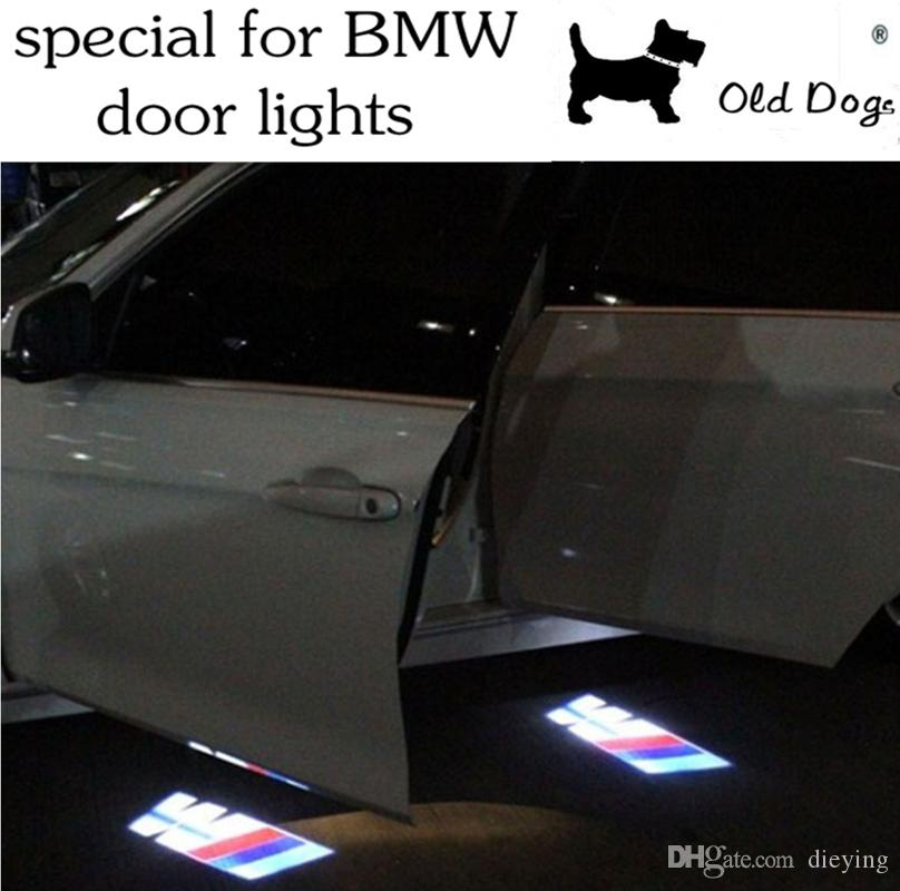 2017 led door warning light for bmw logo projector for car. Black Bedroom Furniture Sets. Home Design Ideas