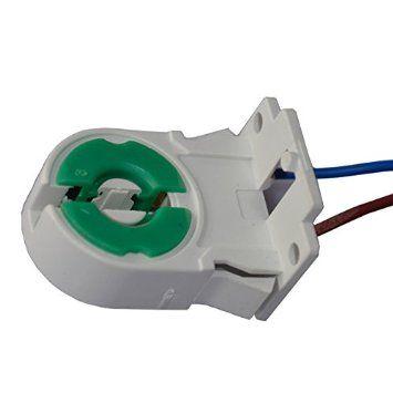 2017 Pack Of 20 Non Shunted T8 Lamp Holder Socket