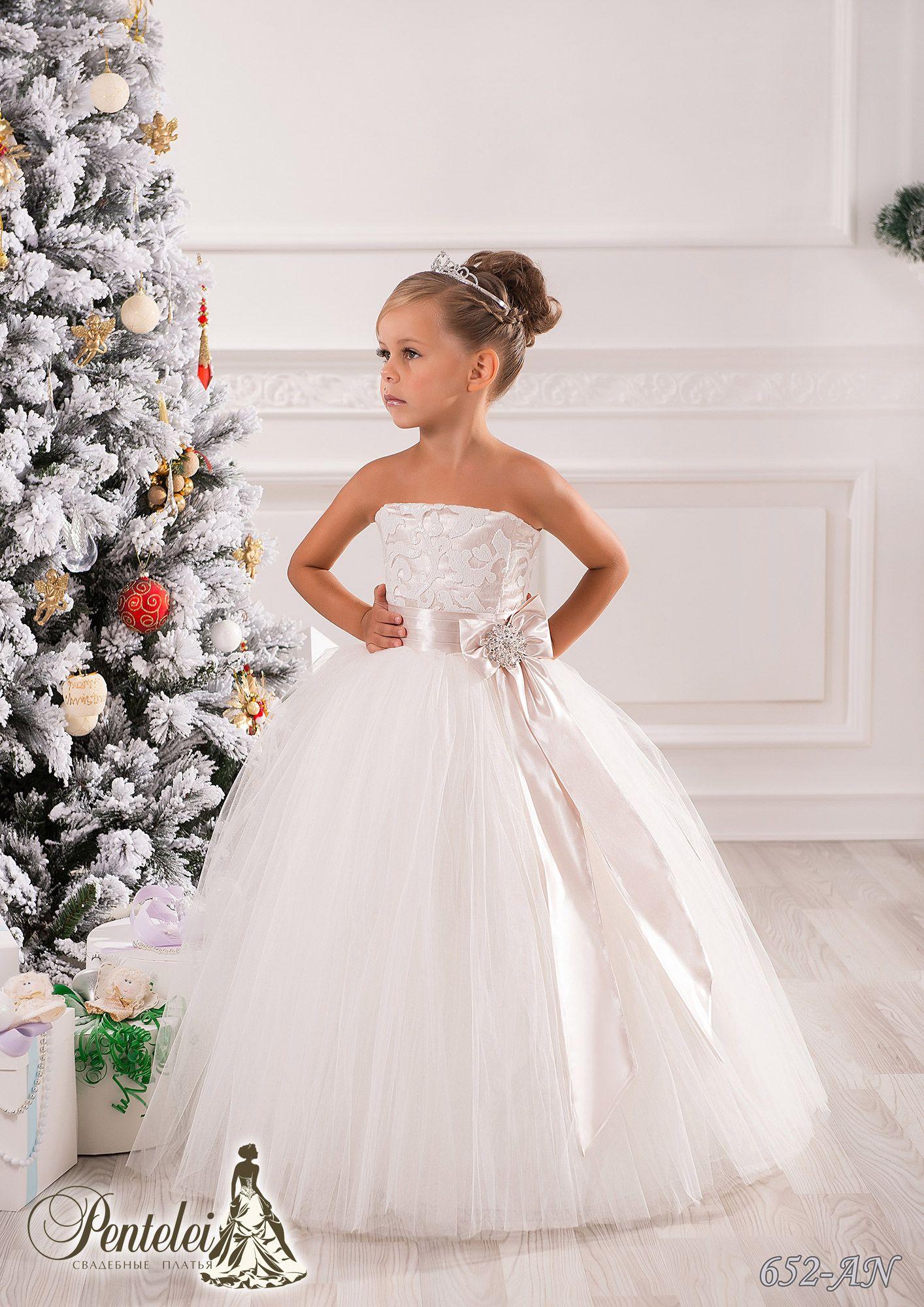 Wholesale Strapless Flower Girl Dresses - Buy Cheap Strapless ...