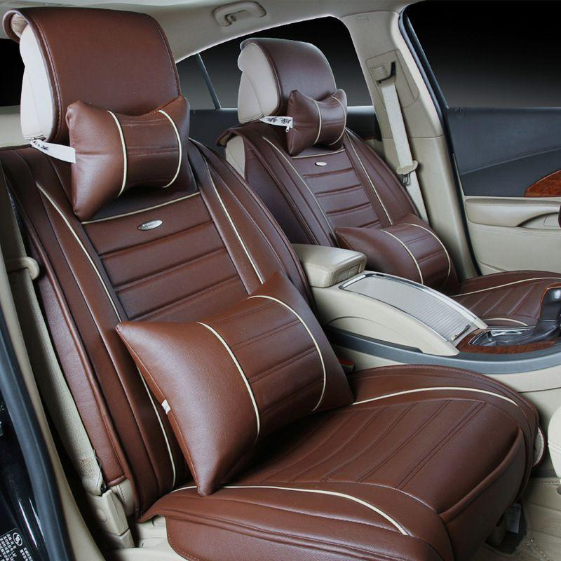 The New Leather Car Seat Linen Cushions Supplies Automotive Interior Seat Cover Seat Cover