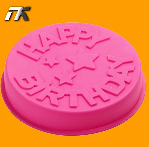English Letters Hayyp Birthday Cake Mould Food Grade Silicone High Temperature Resistance Microwave Oven Baking Tools Baking Tools Cake Mold Baking Moulds