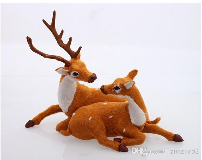 Christmas indoor decoration christmas reindeer christmas for Christmas deer decorations indoor