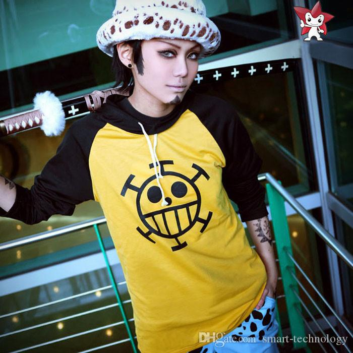 best anime one piece trafalgar law cosplay hoodie death surgeon clothes unisex under. Black Bedroom Furniture Sets. Home Design Ideas