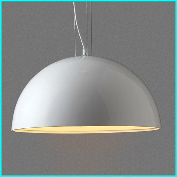 Round Led Pendant Light Skygarden Modern White Hanging