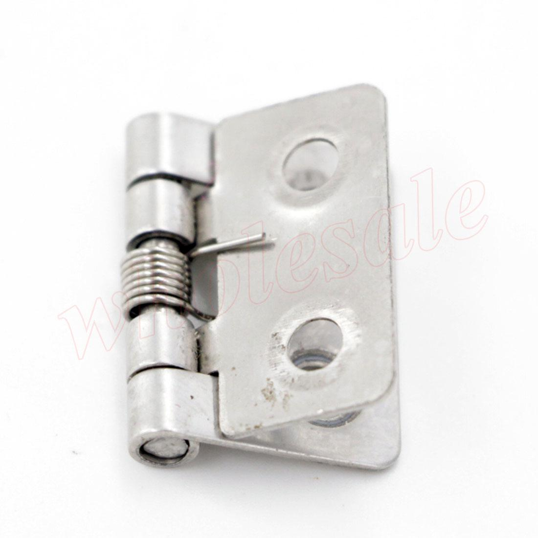 2017 Butt Door Hinges Stainless Steel Spring Loaded 33 X 25 X 5mm Hinges Cabinet Closet
