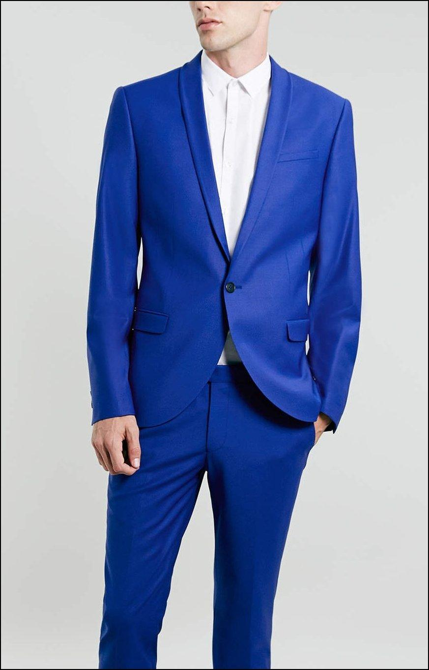 Royal Blue Men Suit For Weddings Online | Royal Blue Men Suit For