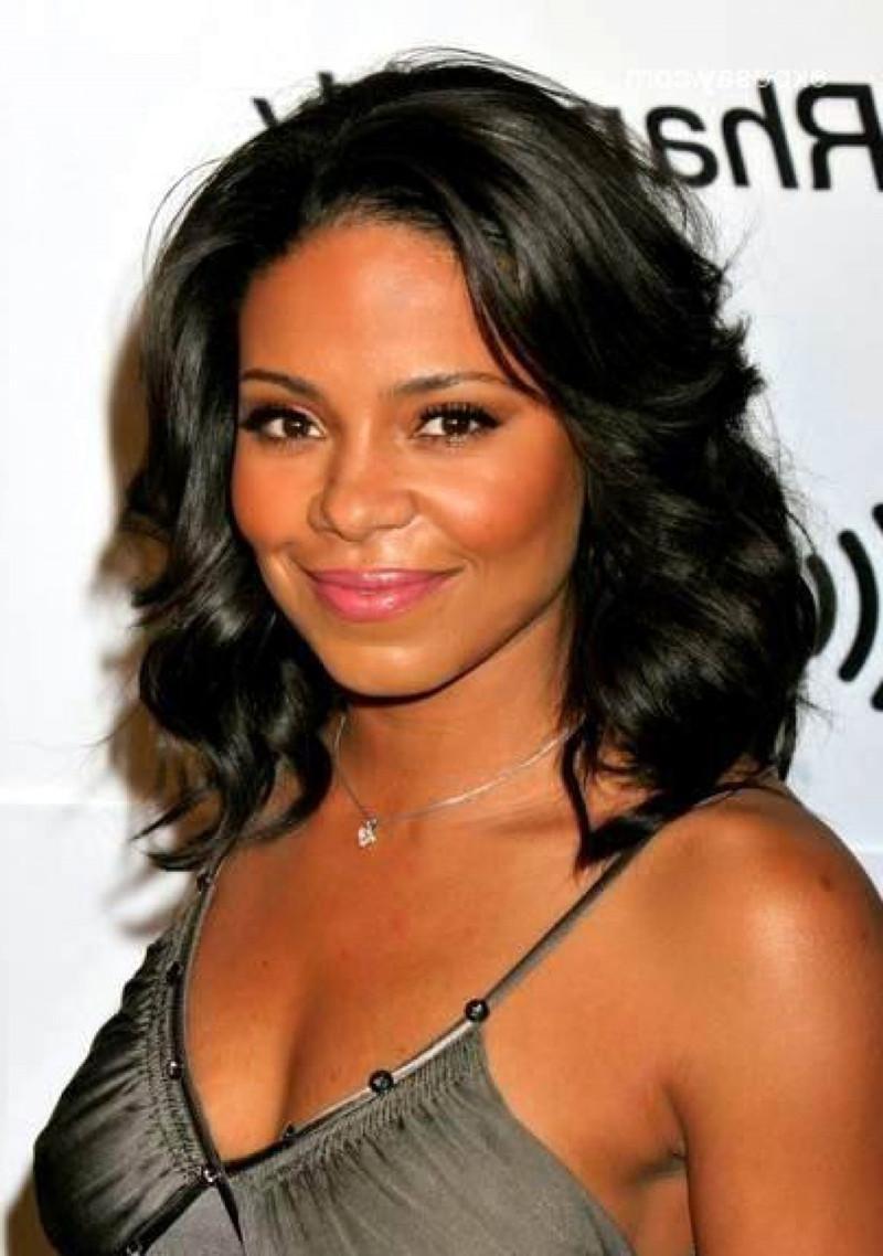 black women hairstyles medium length hair full lace wig