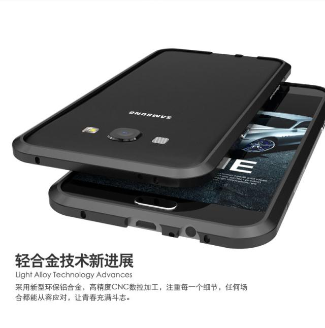 !!For Samsung Galaxy A8 Aluminum Metal Case made by LUPHIE Diamond ...