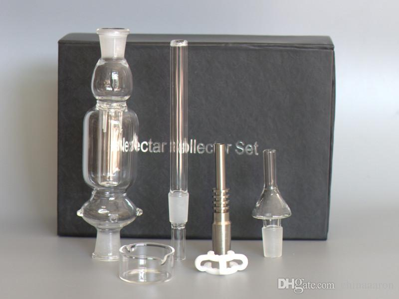 how to clean rubber nectar collector