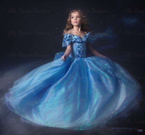 Blue Cinderella Prom Dresses UK