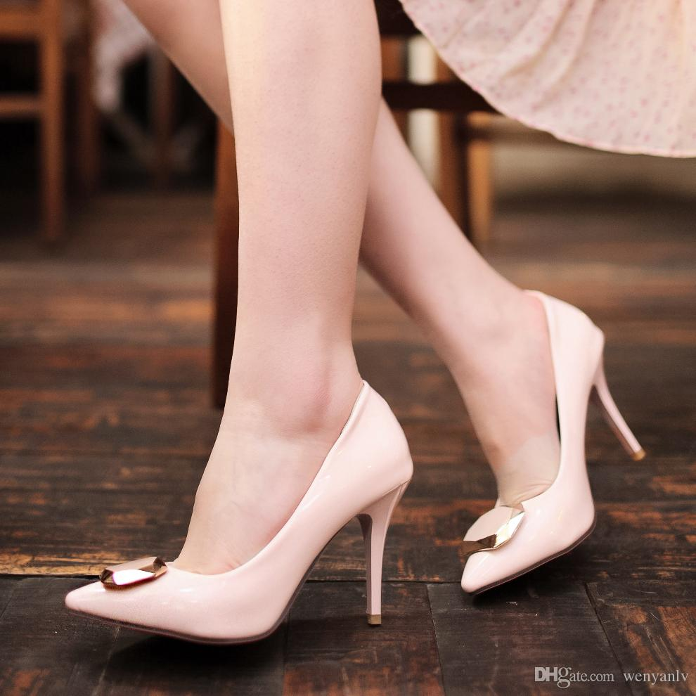 Pink Sexy High Heels