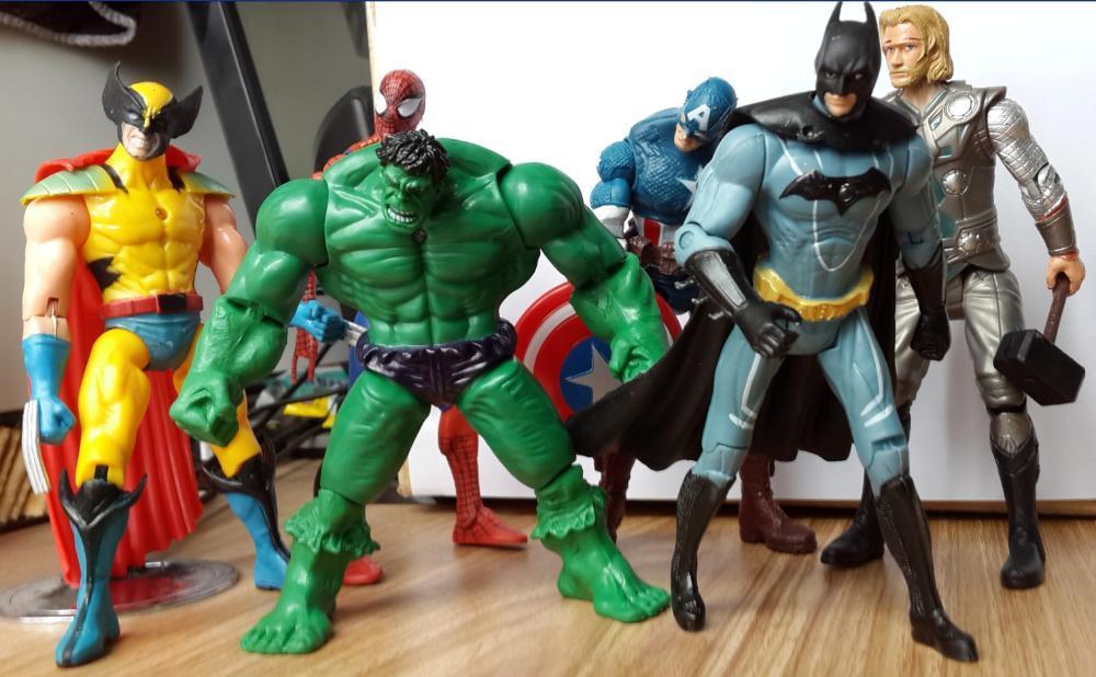 Superhero Toys For Boys : Wholesale sets the avengers captain america wolverine