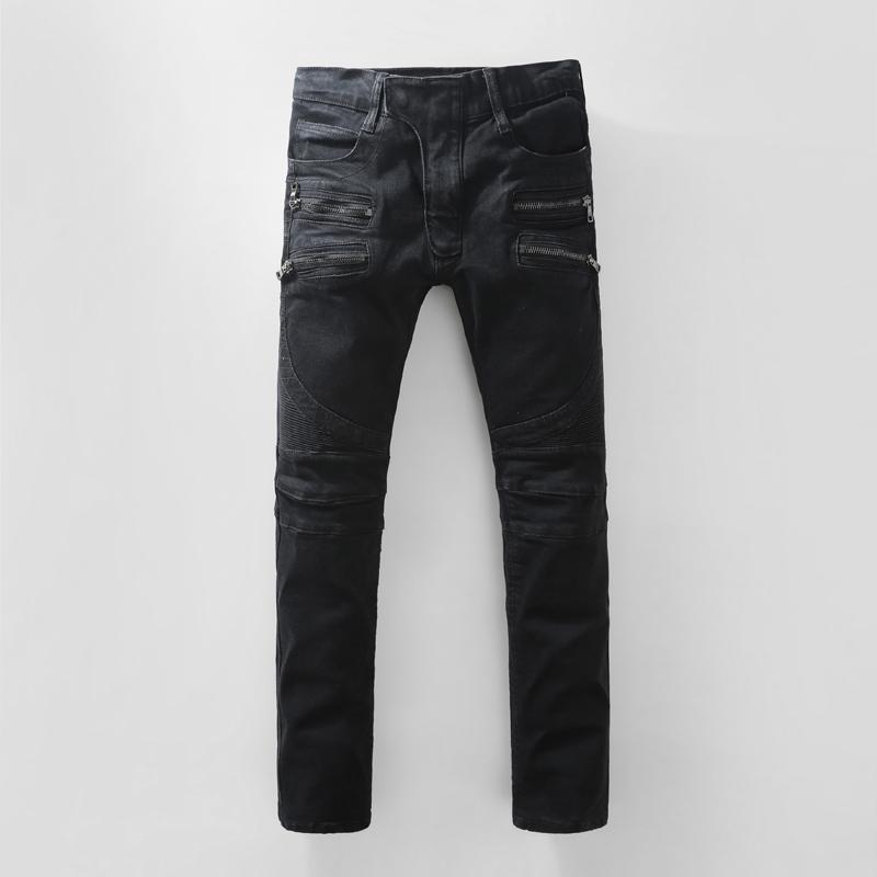Double Zipper Jeans Men Online | Double Zipper Jeans Men for Sale