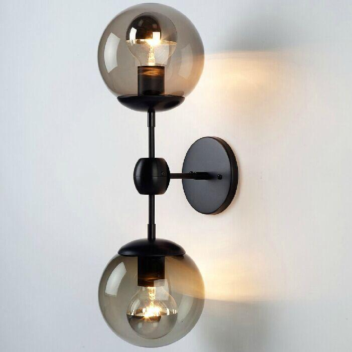 Hot Modo Wall Sconce Modern Glass Ball Wall Lamp Modo Wall Light ...