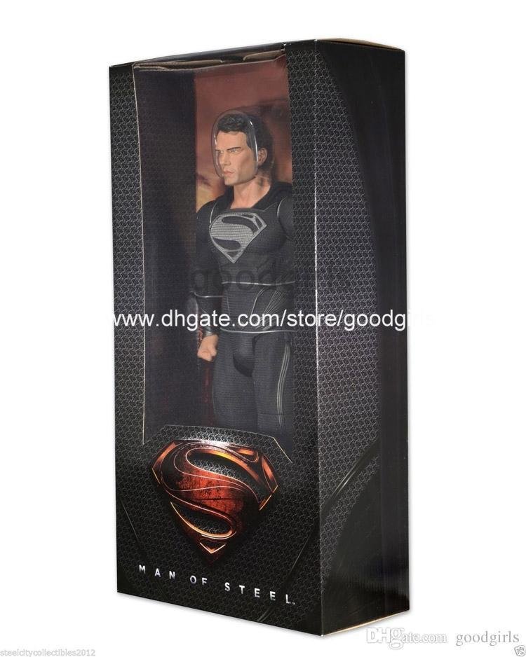 Black Suit Superman Man of Steel Man of Steel Black Suit