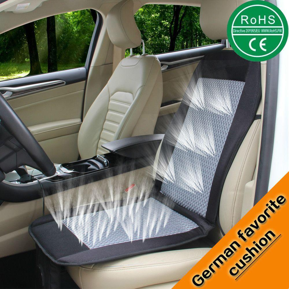 12v Car Air Cushion Car Summer Cool Ventilated Car Seat