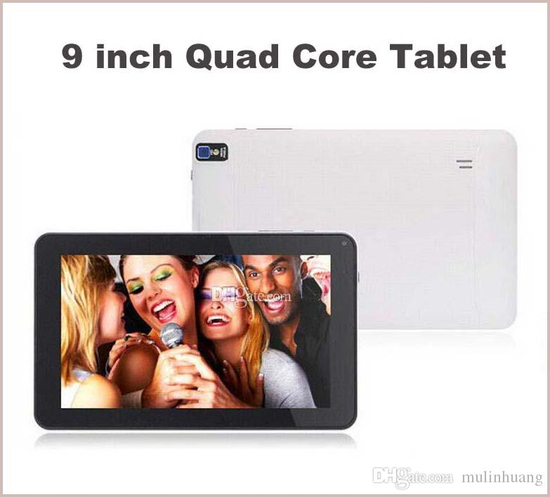 9 pouces Quad Core Allwinner A33 X30 Android 4.4 KitKat 512MB RAM 8GB ROM Wifi d