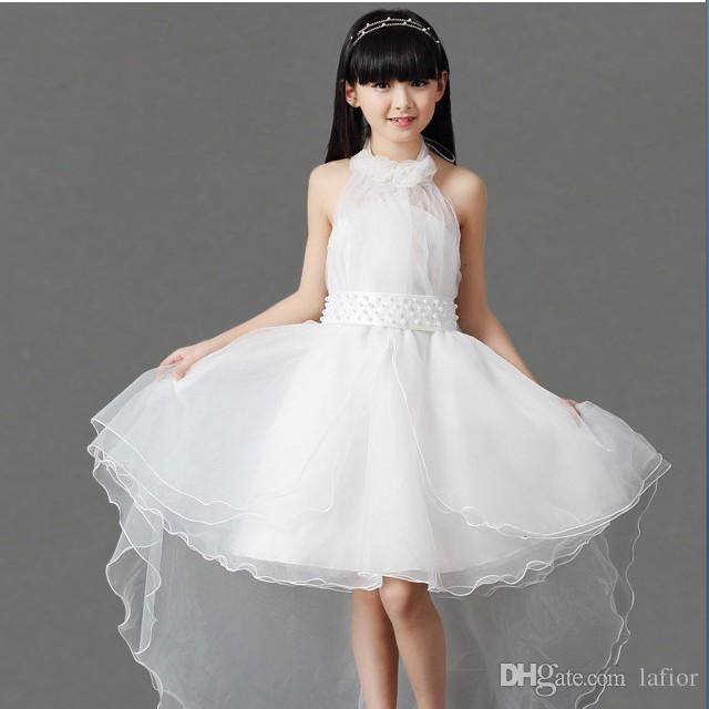 White Wedding Dresses For Kids