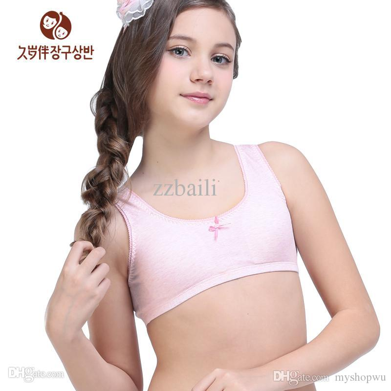 Online Cheap Wholesale Young Girl Camisoles Tanks Padded Training ...