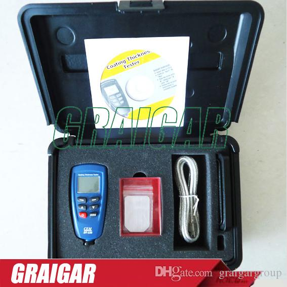 High Accuracy CEM DT Digital Paint Coating Thickness Tester - Paint tester online