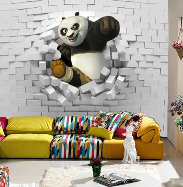 Kung Fu Panda Bedroom Design46