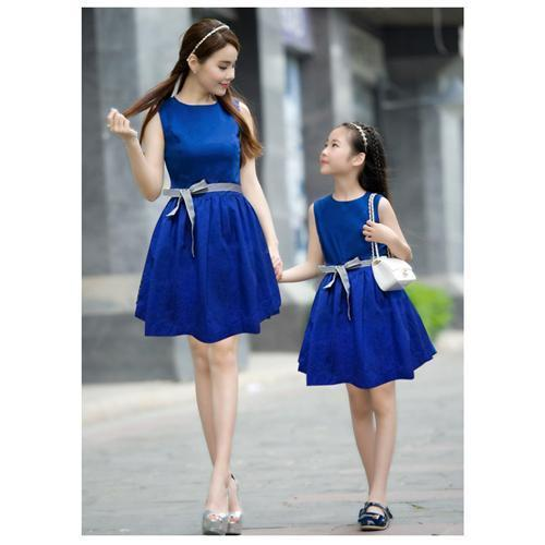 2015 New Summer Family Matching Outfits Mother Daughter Dresses ...