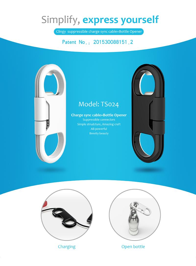 portable keychain bottle opener charge sync usb data cable for mobile phone and other mobile. Black Bedroom Furniture Sets. Home Design Ideas