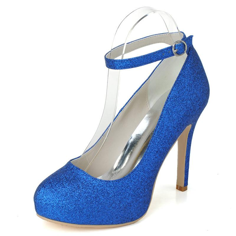 6915 05 Latest Royal Blue Wedding Shoes Size 11cm Cheap Custom Made Bridesmaid Shoes Women