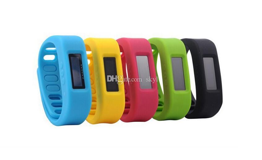 5 Color Smart Sports Bracelet SW101 original Fitbit flex health records pedometer step counter wireless sleep bracelet B2 DHLDHL FREE