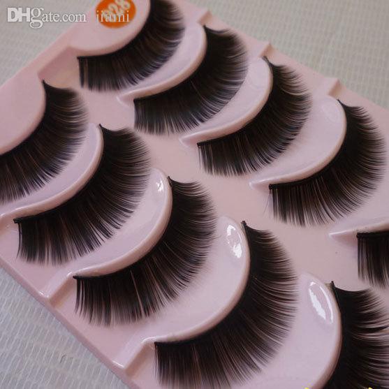Wholesale Long Thick False Eyelashes Professional Makeup Soft ...