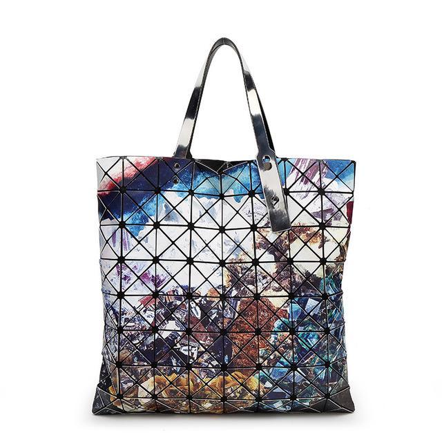 Women Bag 2016 Famous Designer Handbag Vintage Print Geometry ...