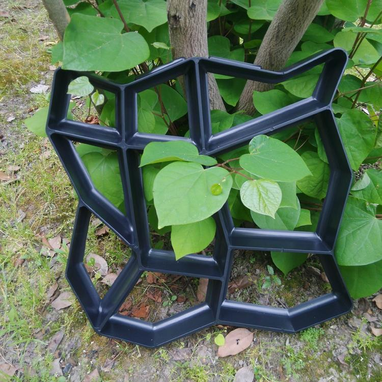 Strong path maker mold crazy paving maker paving mold for Garden maker online